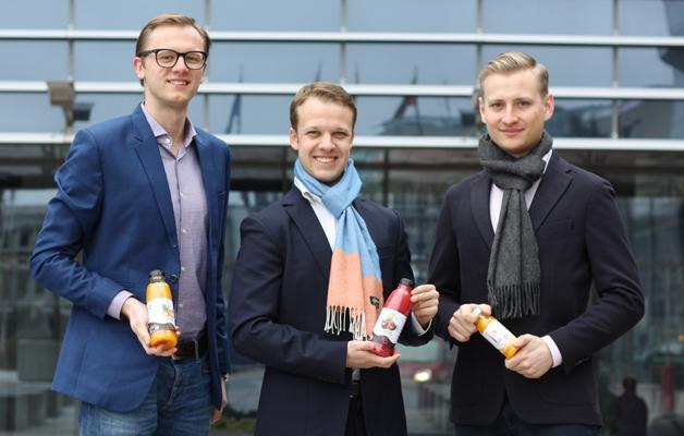 Trys vaikinai ir B. Pascalis, arba Egzotiškų sulčių verslas Lietuvoje