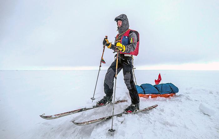 Poliarinė ekspedicija: prisijaukinus šaltį, ledas tapo antraisiais namais