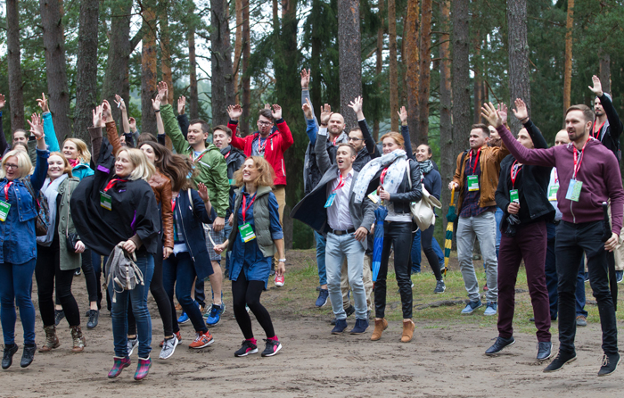 Verslo pažinčių ieškojo miško takeliuose