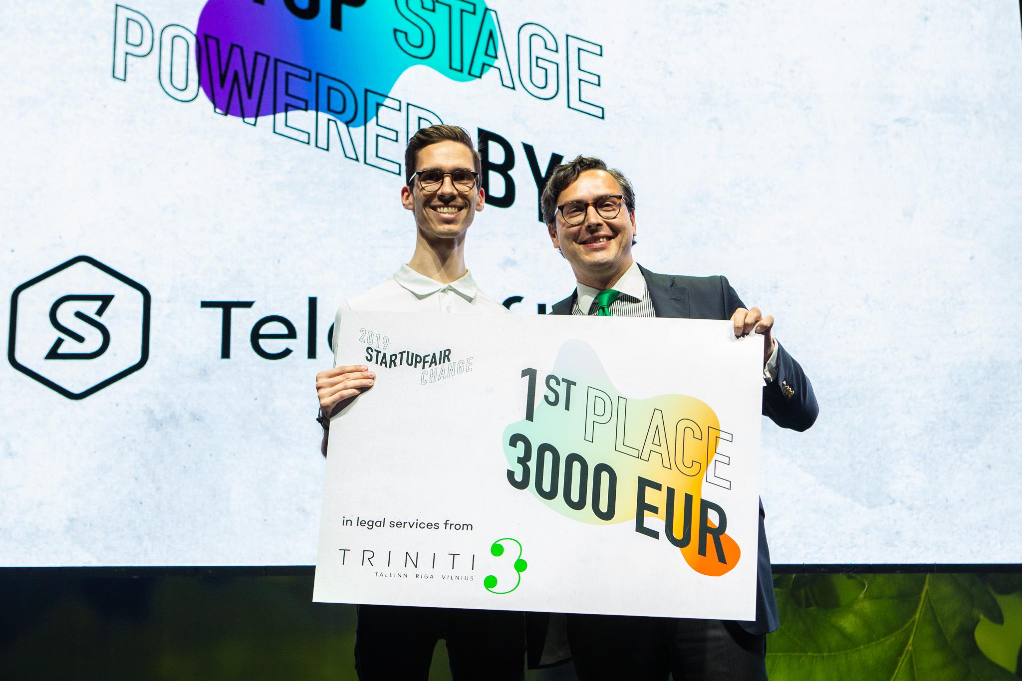Išrinktas geriausias metų startuolis
