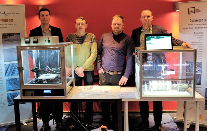 Universitete gimęs startuolis kuria pažangias technologijas