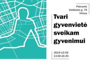 """Architektūros, statybos, urbanistikos ir dizaino konferencija """"Tvari gyvenvietė sveikam gyvenimui"""""""