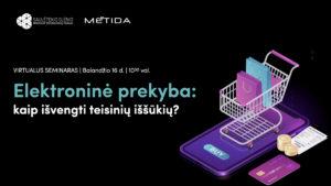 Elektroninė prekyba: kaip išvengti teisinių iššūkių?