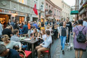 Pagalba lauko kavinėms ir prekyvietėms