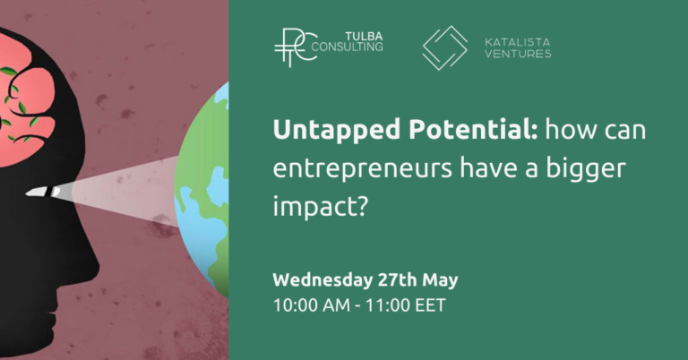 Untapped Potential: how can entrepreneurs have a bigger impact?