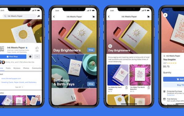 """""""Facebook Shops"""" padės smulkiesiems verslams žengti į internetą"""