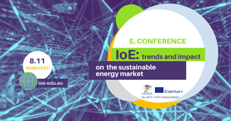 """E-conference """"IoE: trends and impact on the sustainable energy market"""""""