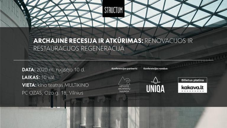 Structum konferencija: Archajinė recesija ir atkūrimas