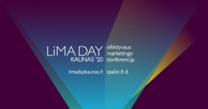 Efektyvaus marketingo konferencija – LiMA DAY KAUNAS'20