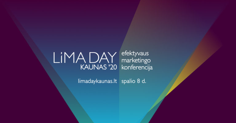 Efektyvaus marketingo konferencija – LiMA DAY KAUNAS'20