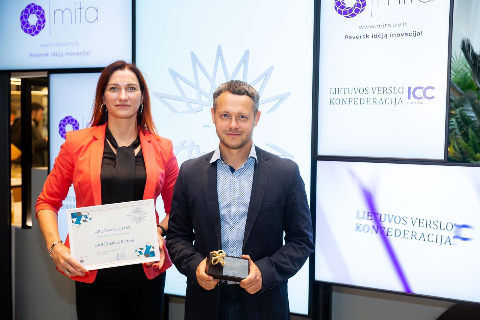 Metų apdovanojimas – sąskaitų apskaitos programai