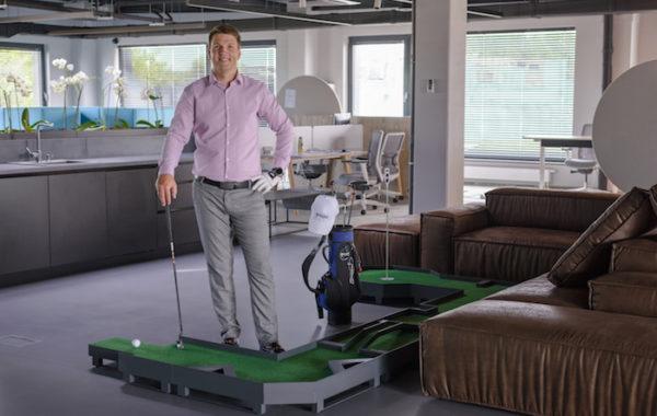 Sukurtas mažiausias modulinis golfo takelis Lietuvoje