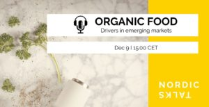 "Online seminar ""Nordic Talks – Organic Food"""