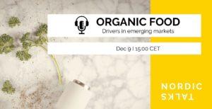 "Online seminar ""Nordic Talks – Organic Food"""