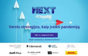 """Virtuali verslo konferencija """"Next Economy 2021"""""""