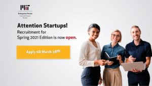 MIT EF CEE Spring 2021 acceleration program for startups