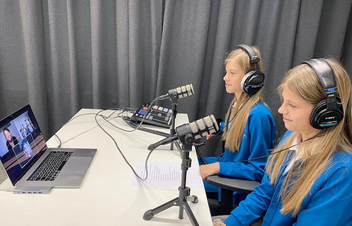 Pradėta kurti pirmoji Lietuvoje vaikų vedama pokalbių tinklalaidė