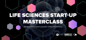 "Akceleravimo programa ""Life Sciences Start-up MasterClass 2021"""
