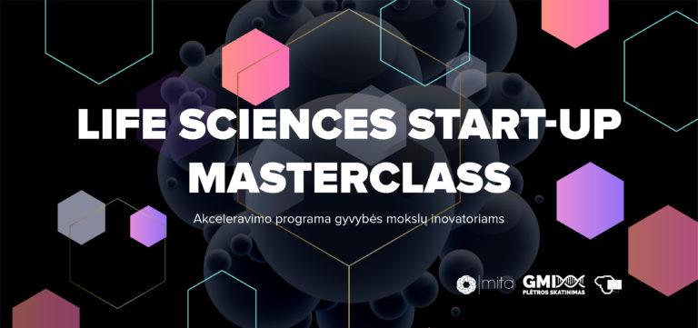 "Akceleravimo programa ""Life Sciences Start-up MasterClass 2021"""