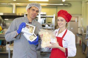 Šviežius makaronus gaminanti šeima – konkurentai italams