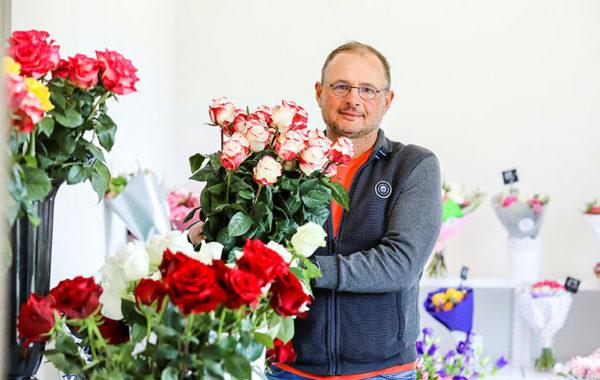 Gėlių pardavėjas plečia veiklą naujomis paslaugomis