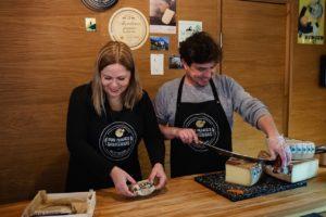 Nuosavą verslą įkūrė išsiilgę prancūziškų sūrių